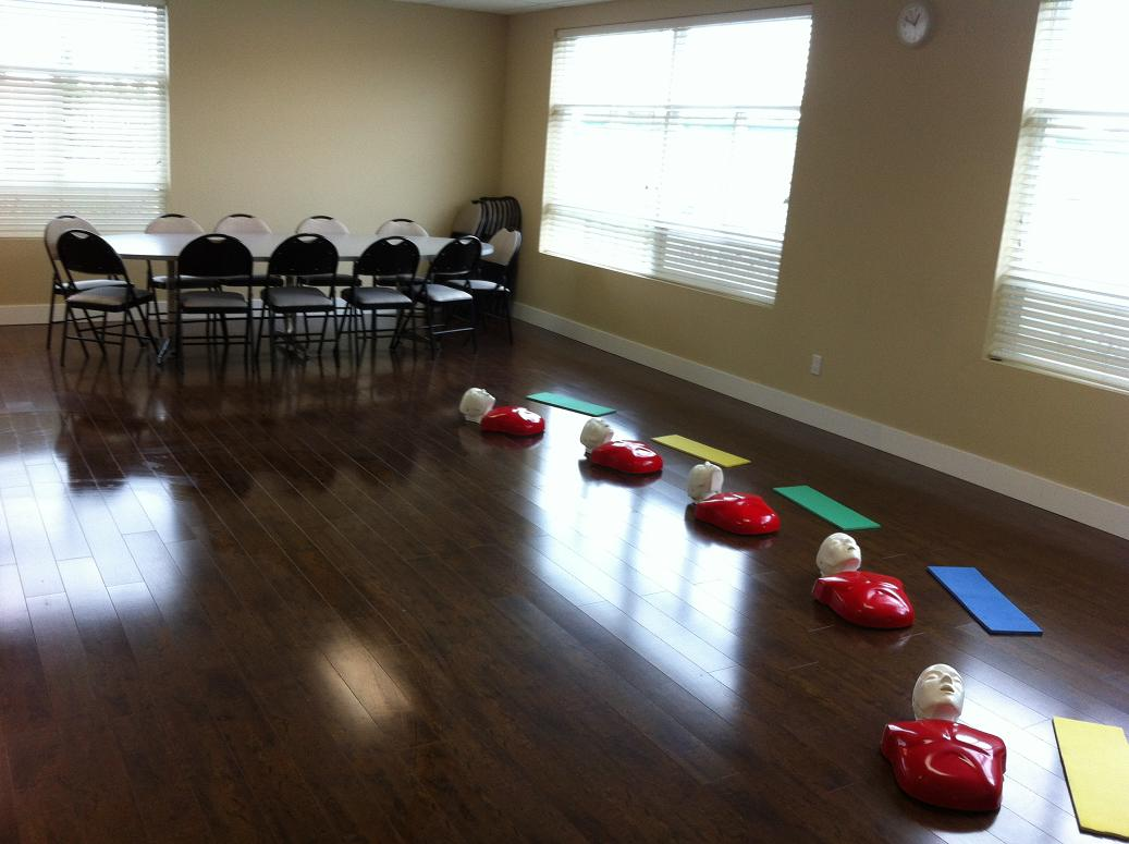First aid and cpr re certification courses in surrey bc surrey first aid classroom xflitez Image collections